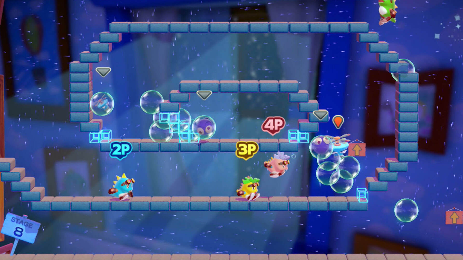 New Bubble Bobble Coming to Switch