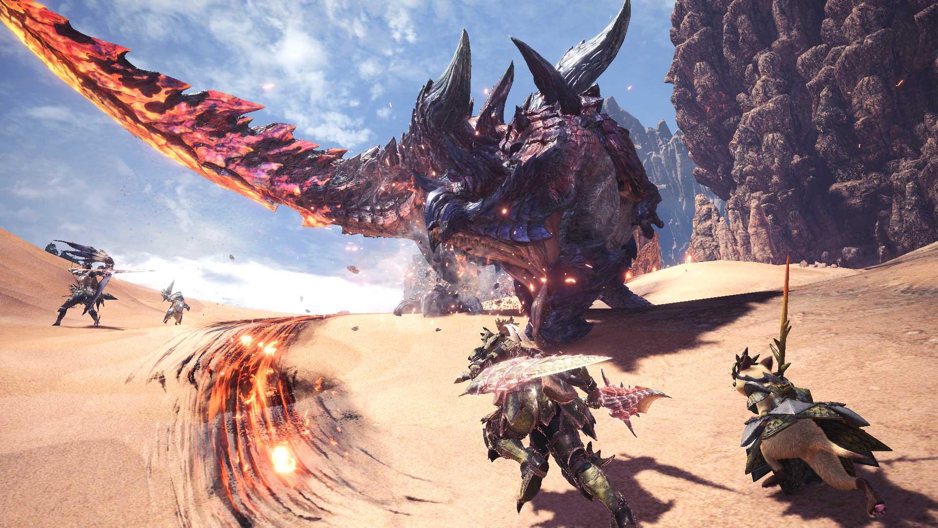 Monster Hunter World: Iceborne - New Glavenus Gameplay, Pre-Order Armor
