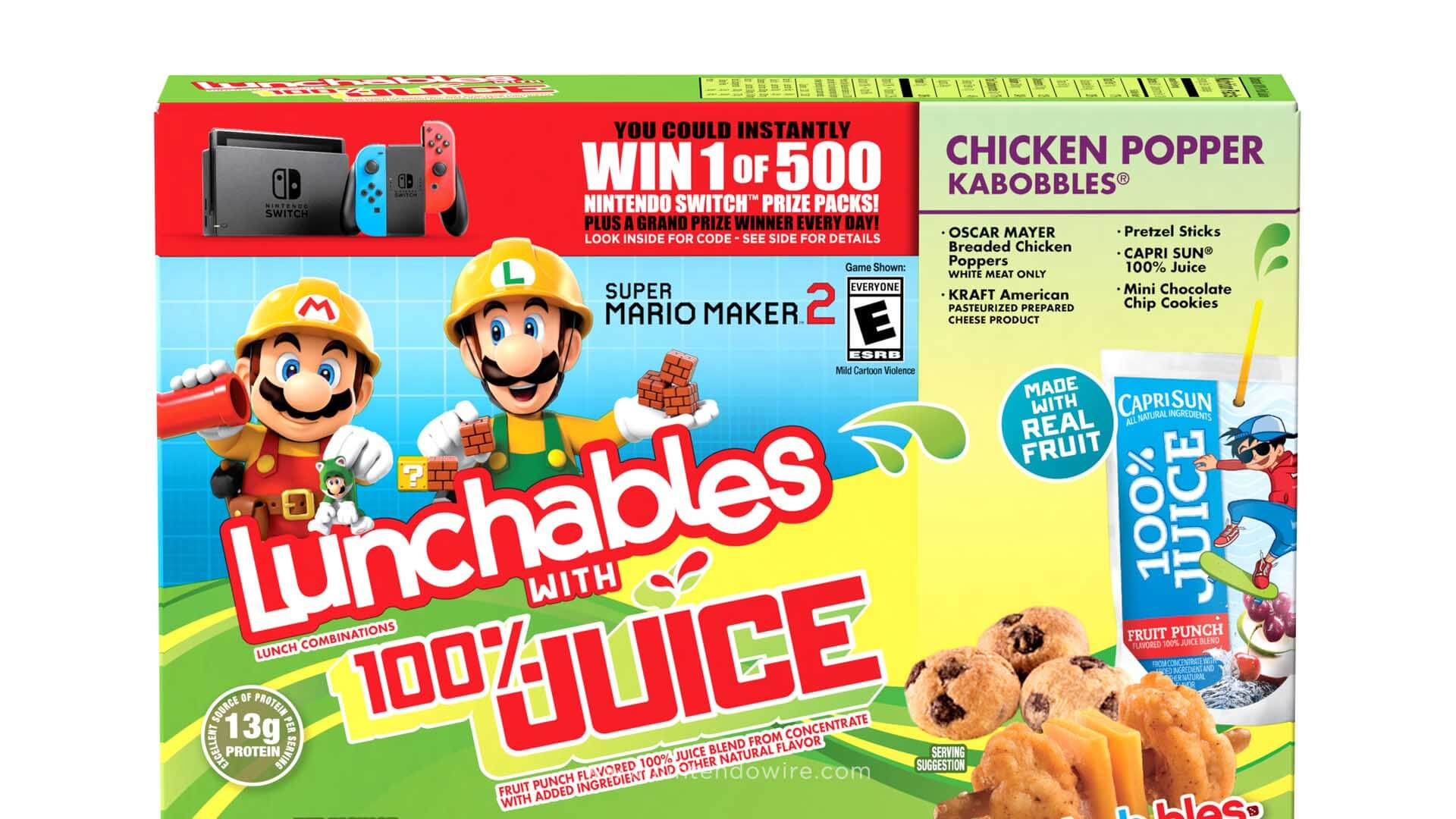 Nintendo-Powered Lunchables Set To Invade Lunchboxes