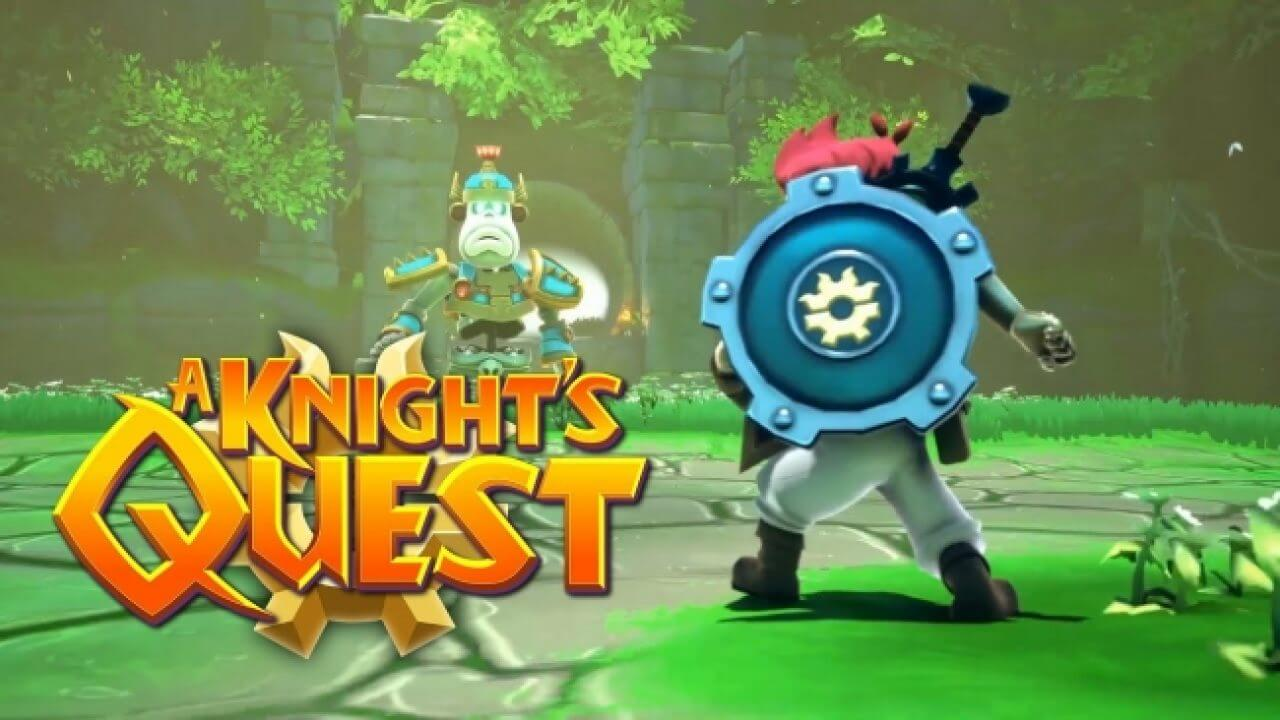 New Adventure Game A Knight's Quest Is Coming To Switch