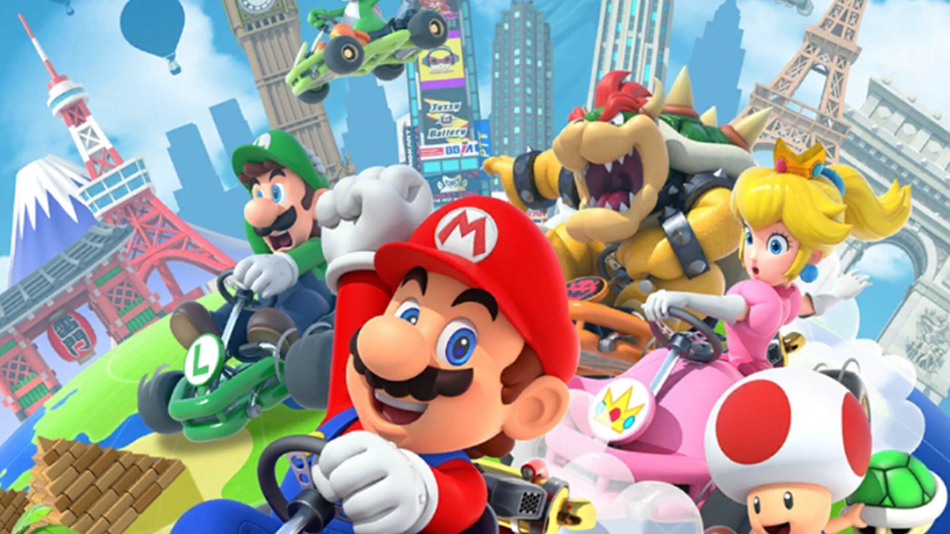 Mario Kart Tour Hits the Gas with Gold Pass