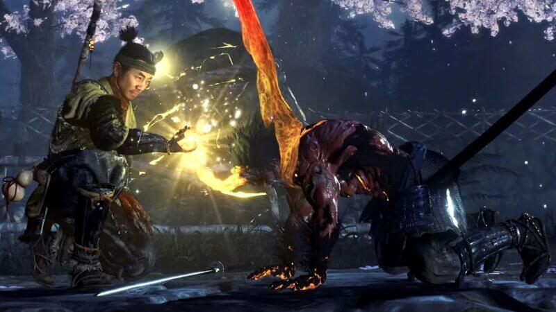 Characters of Nioh 2