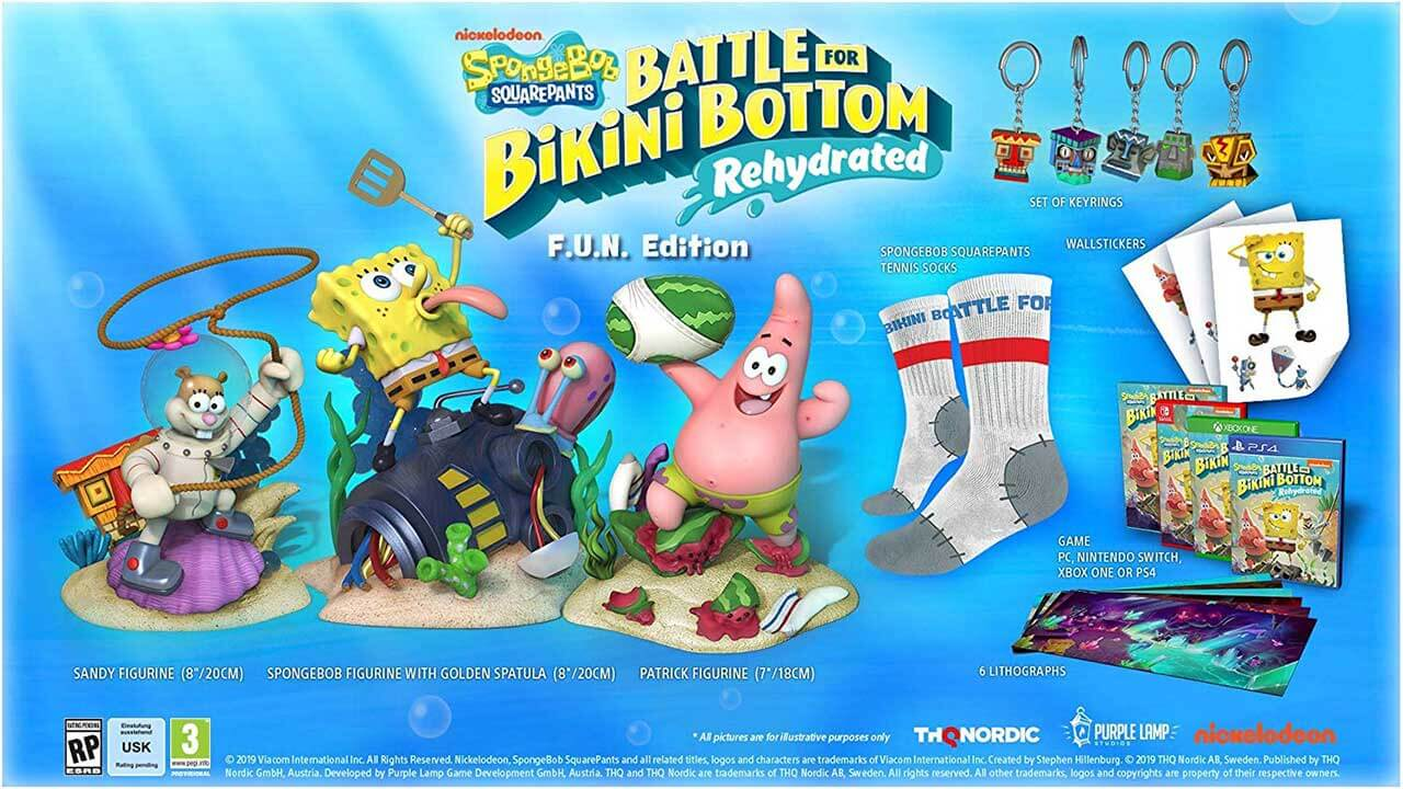 Battle for Bikini Bottom - Rehydrated Gets Two Collector's Editions