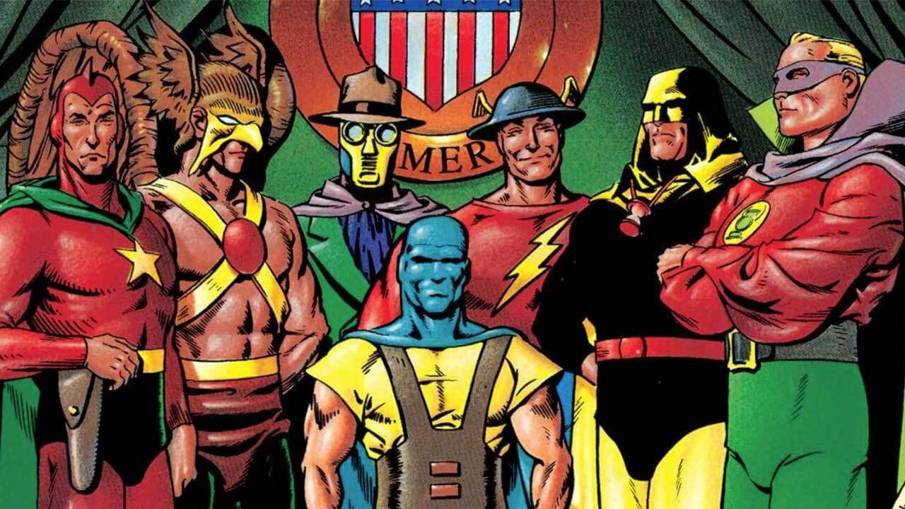 Justice Society of America Returns to DC Universe