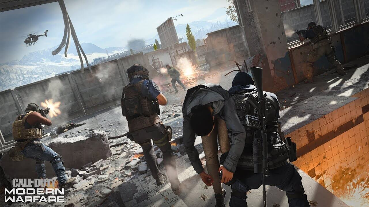 Call of Duty Modern Warfare's Special Ops Mode Revealed
