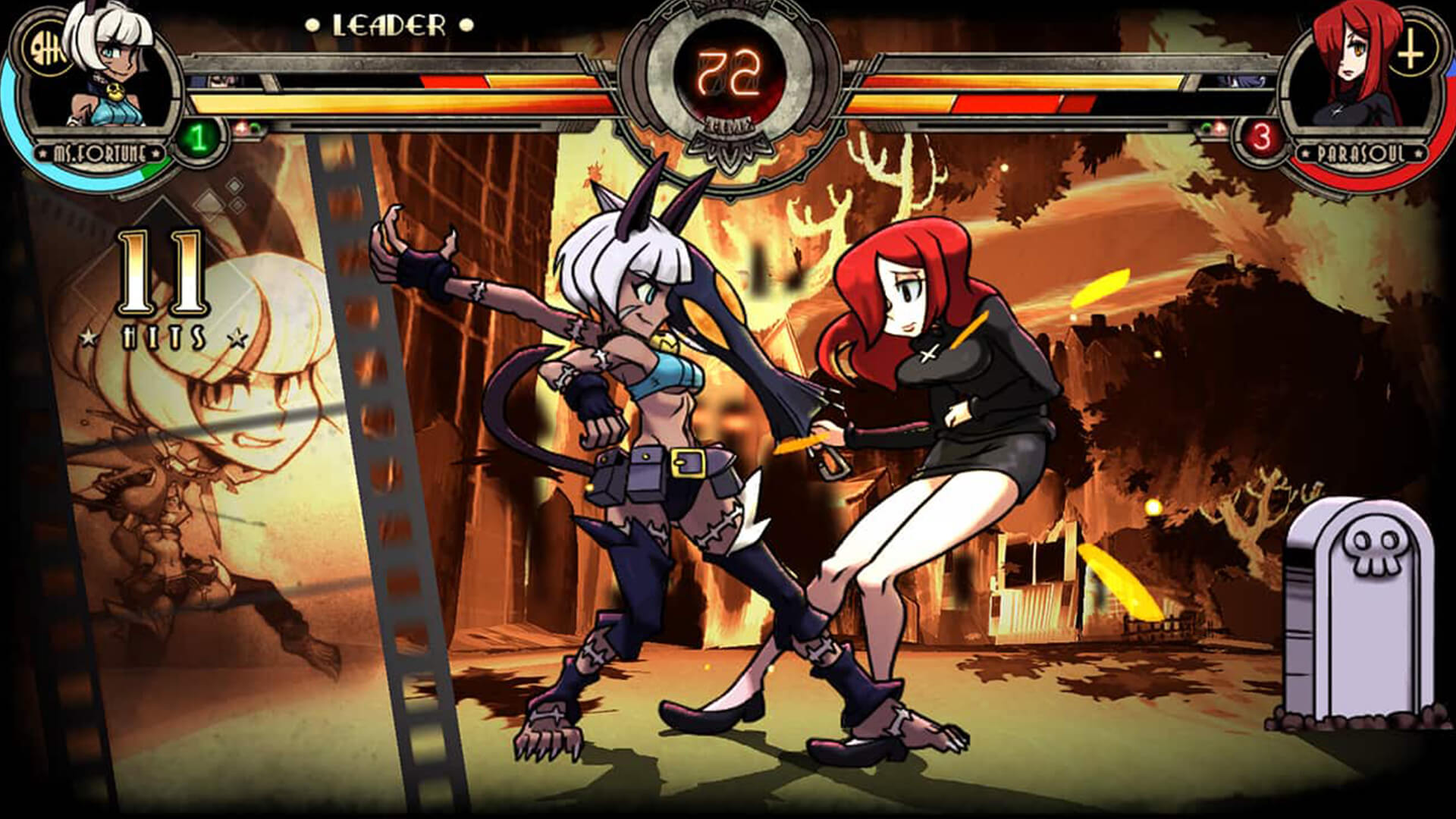 Skullgirls: 2nd Encore Review: Anime Action On The Go