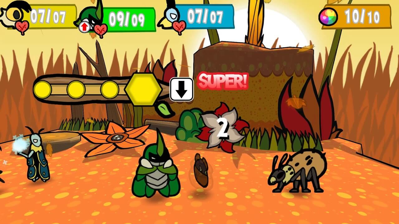 Paper Mario Inspired Bug Fables Now on PC