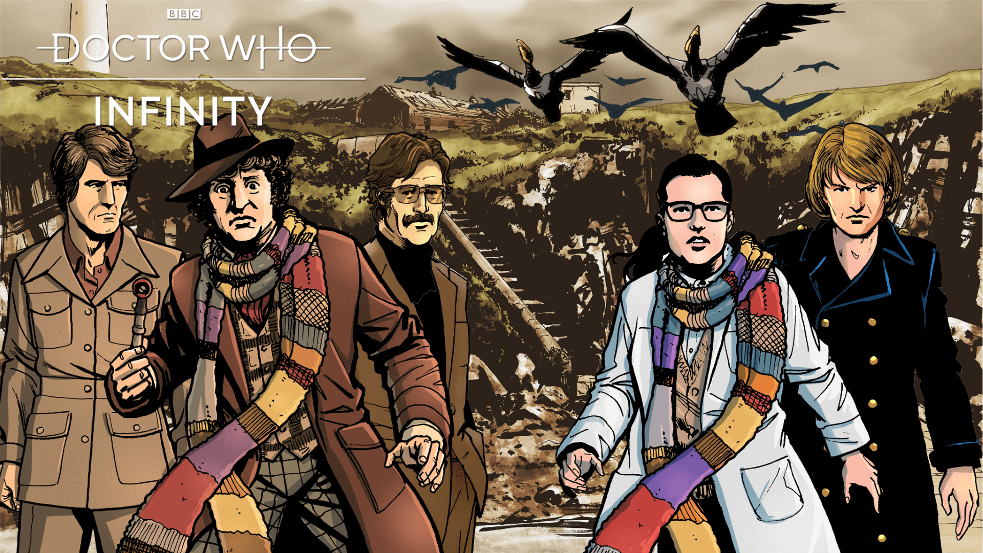 Doctor Who Infinity Full Launch is Live