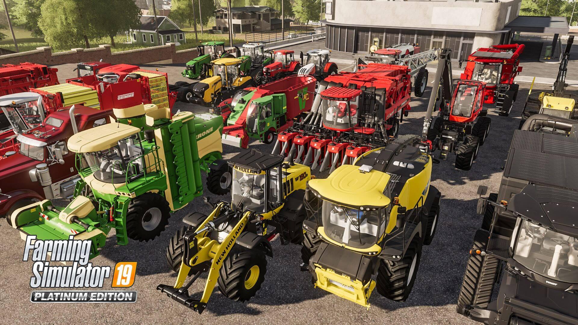 Farming Simulator 19 Platinum Edition Review - A True Farming Experience
