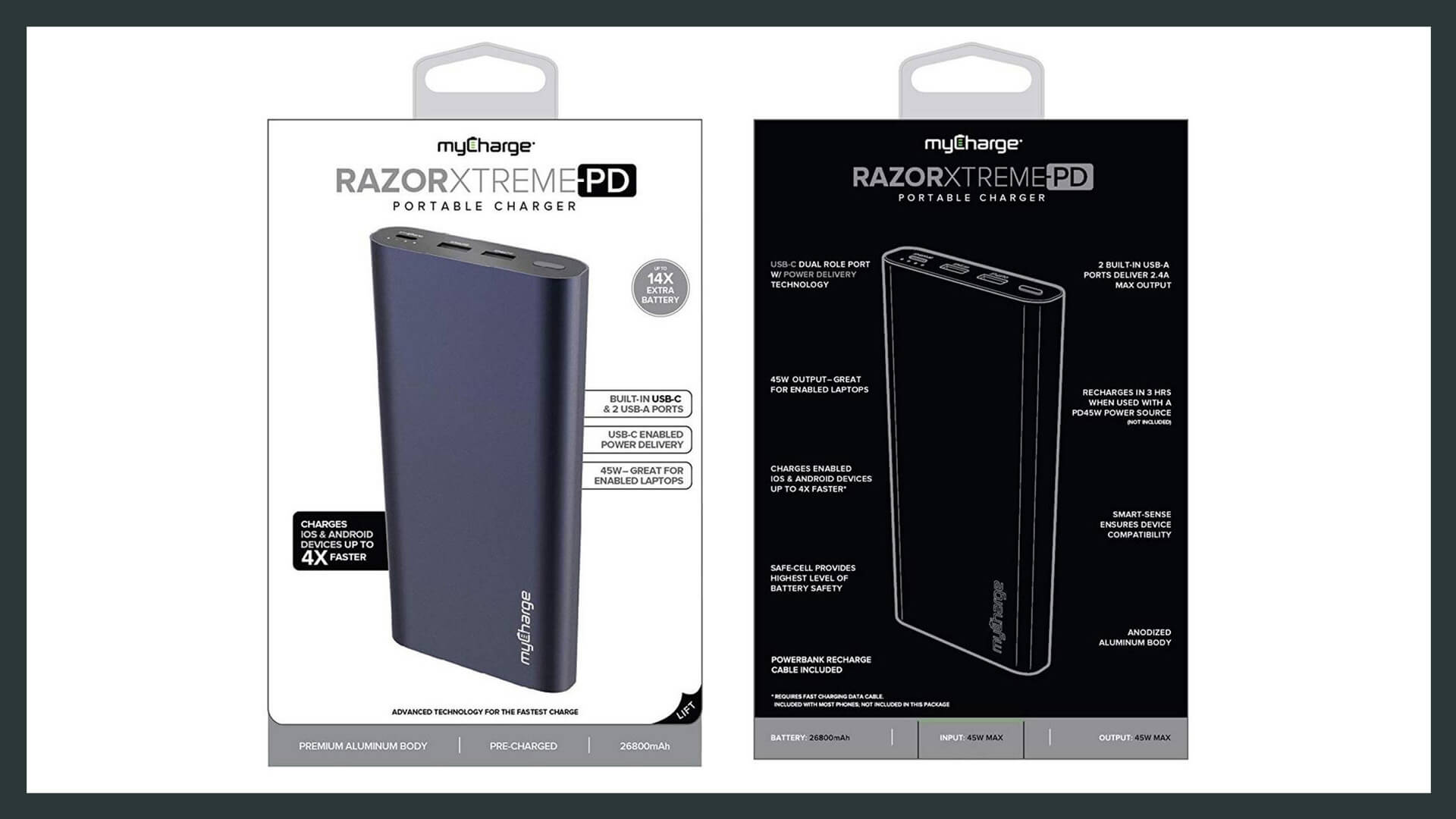 myCharge Razor Extreme PD Portable Charger - Review