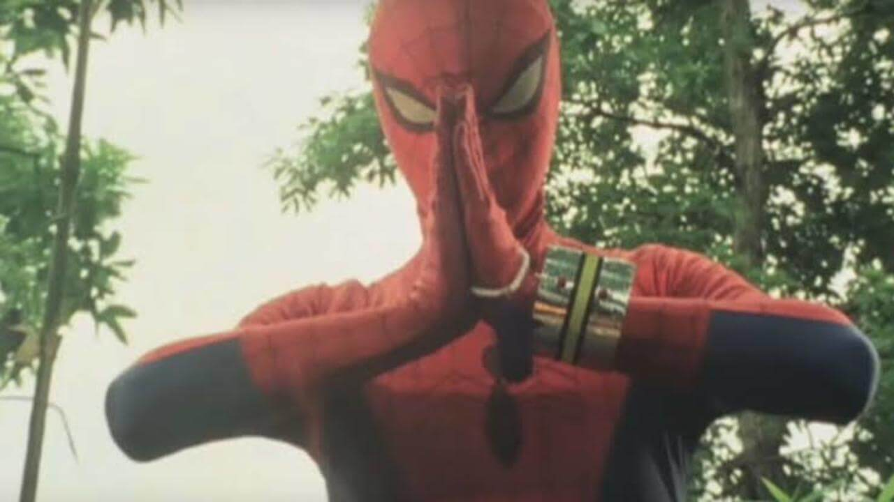 Japanese Spider-Man Could Appear in Spider-Verse Sequel