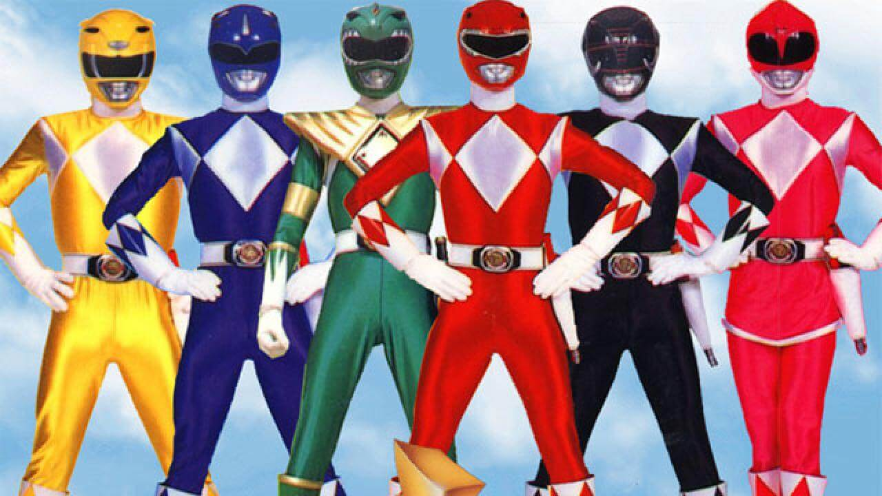 Power Rangers Reboot Goes Back to the 90's