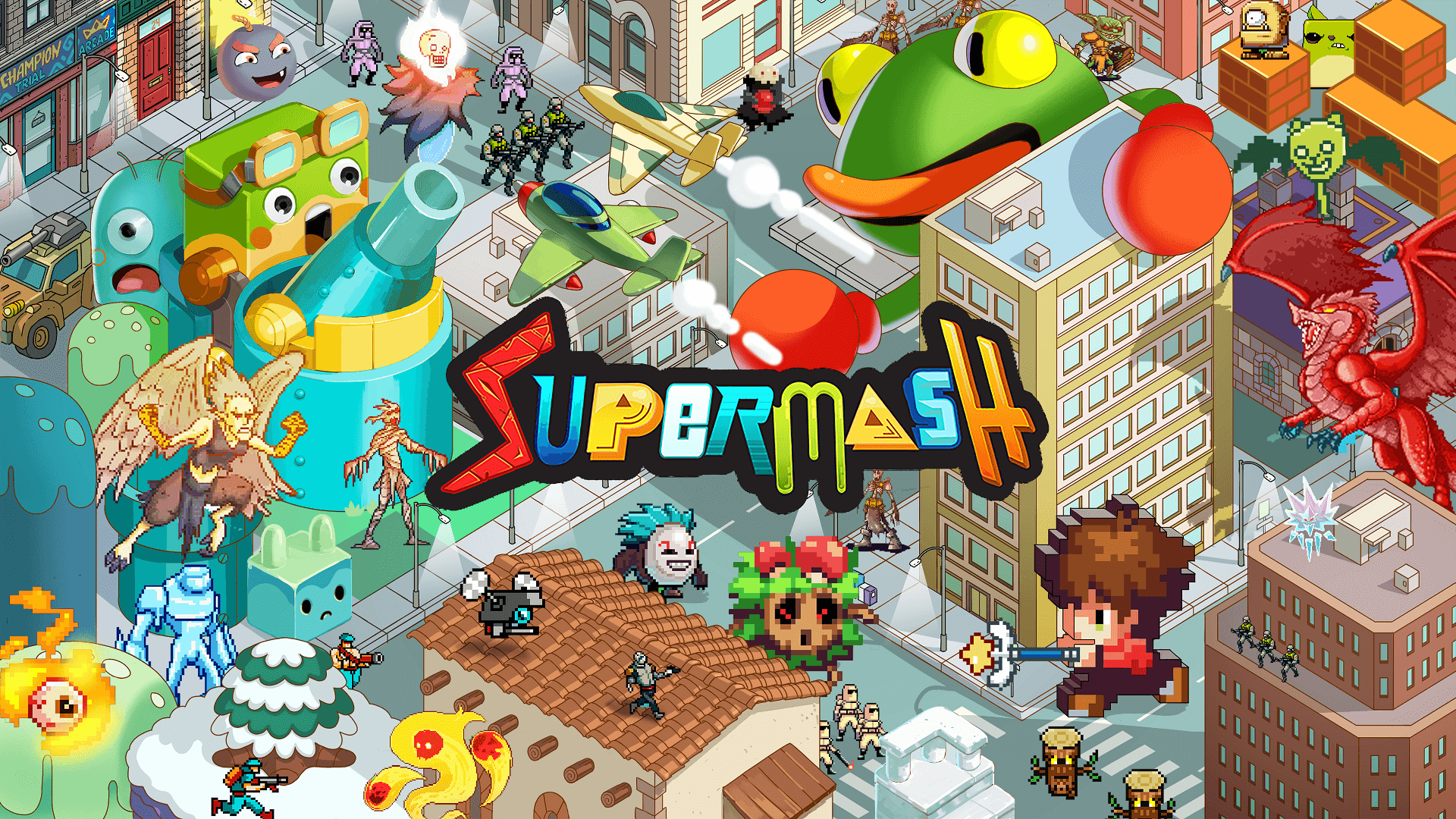 SuperMash Review: A Game that Makes Flops
