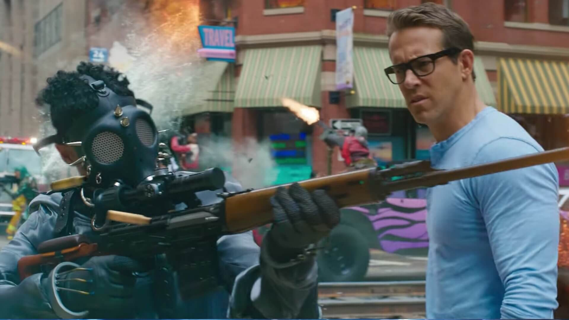 Ryan Reynolds is Virtually a GTA Online Character in Free Guy's First Trailer