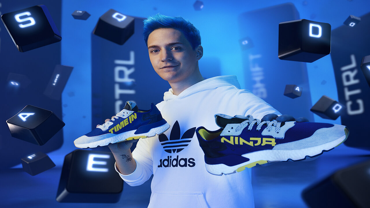 Ninja and Adidas Join Forces With Time In Nite Joggers