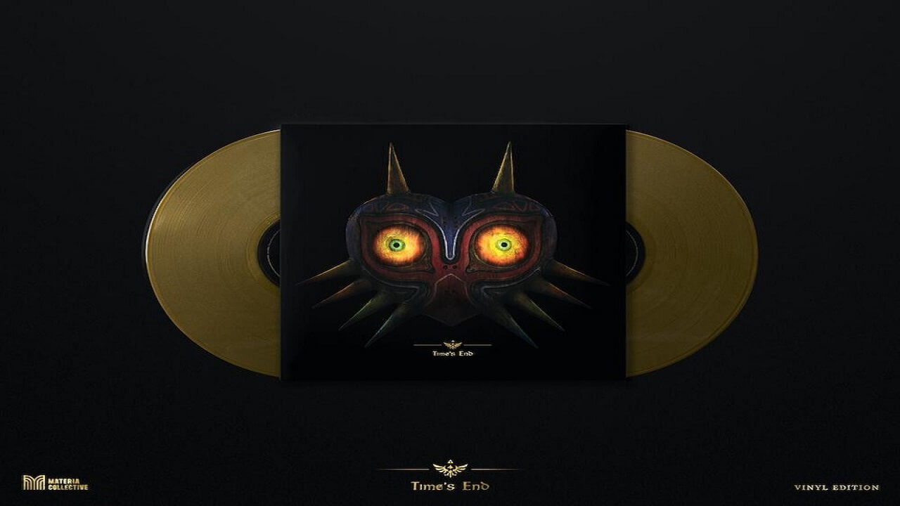 Majora's Mask Albums to Get Physical Release