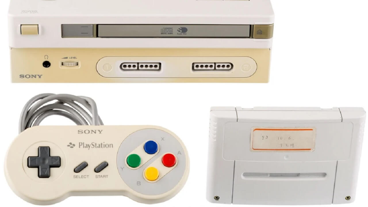 Nintendo PlayStation Prototype will be Auctioned Off
