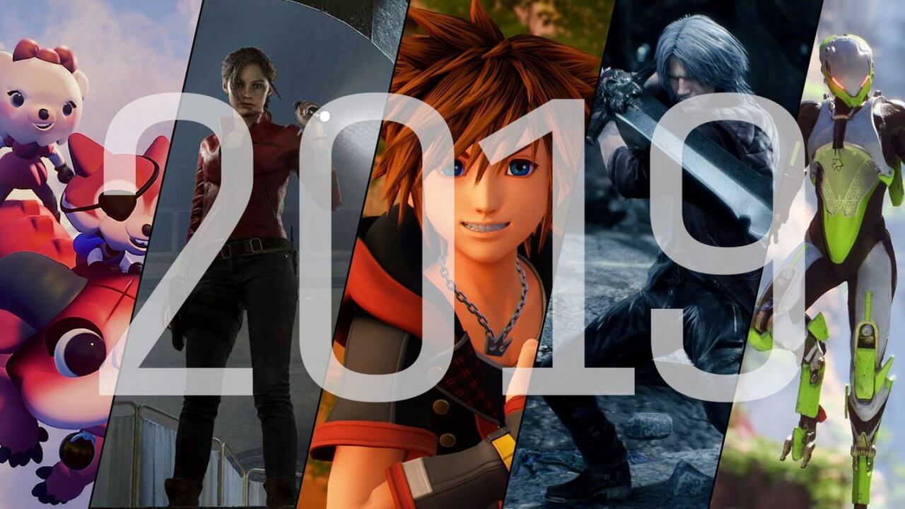 The Official 10 Best-Selling Games of 2019