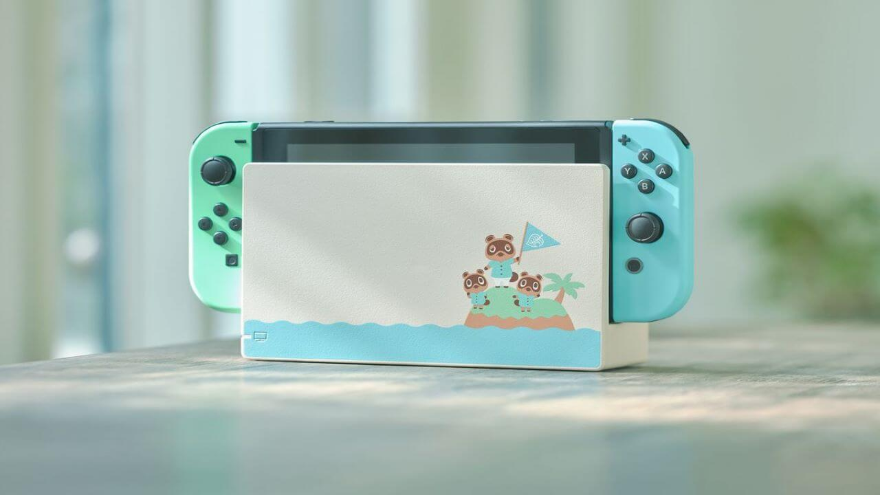 Animal Crossing Themed Switch is Gorgeous