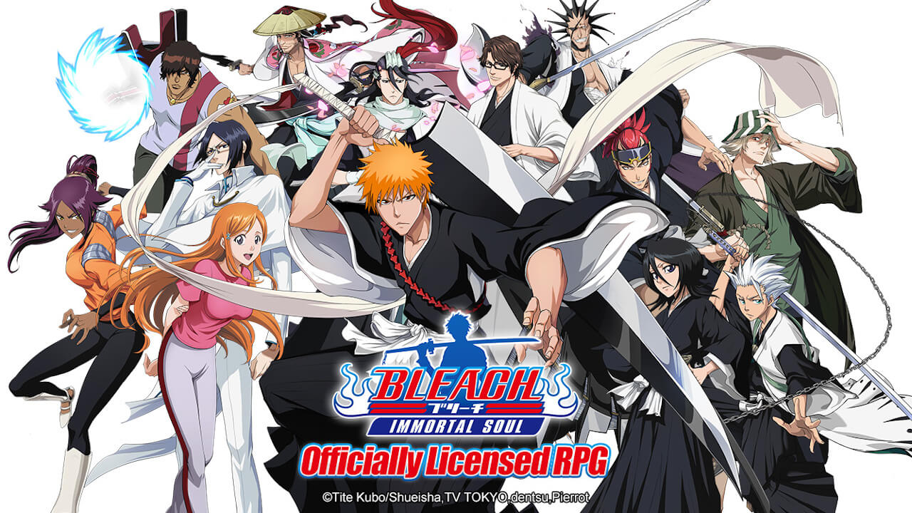 Bleach: Immortal Soul Announced as New Official Mobile RPG