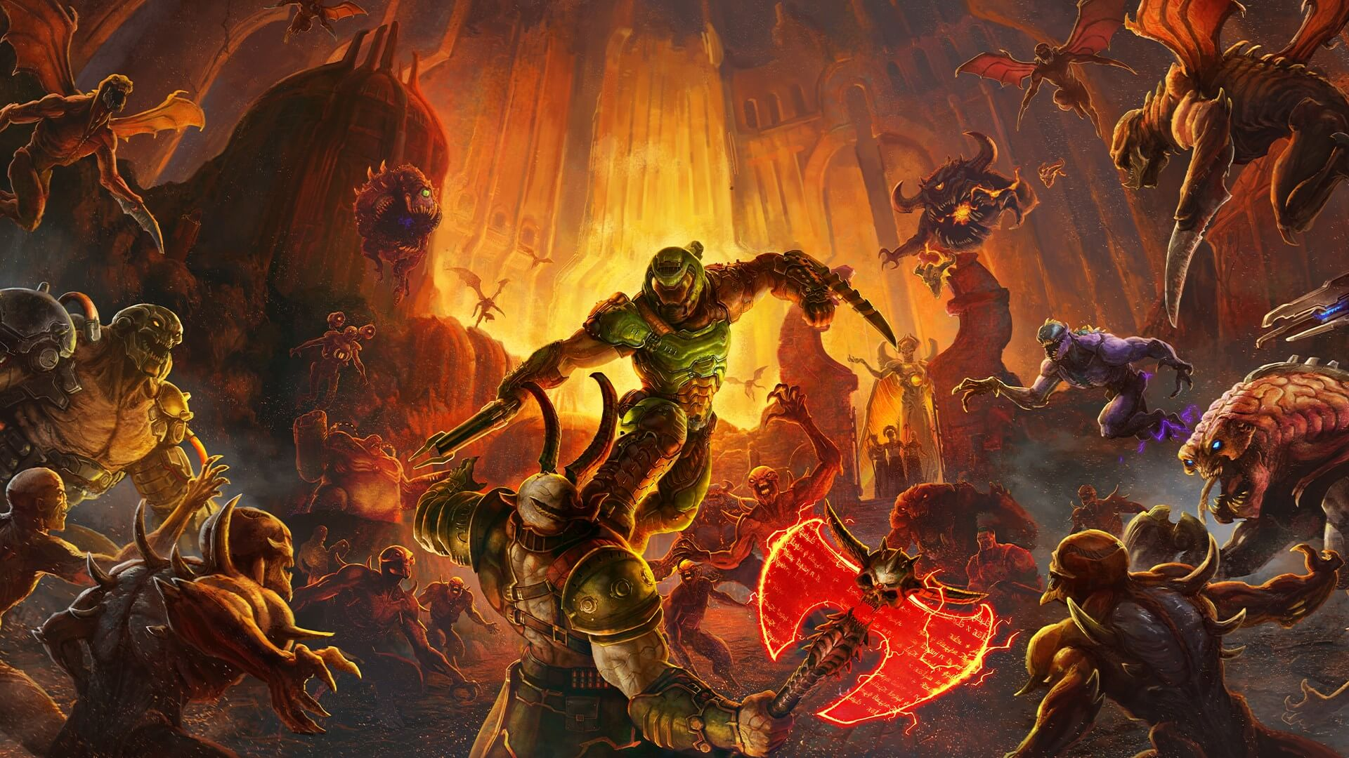 New Doom Eternal Trailer Ripe With Plot and Gameplay Details