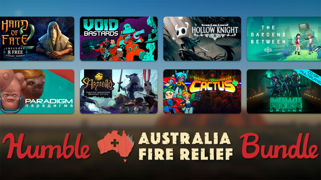 Humble Joins Fire Relief Efforts for Australia with a Charity Bundle