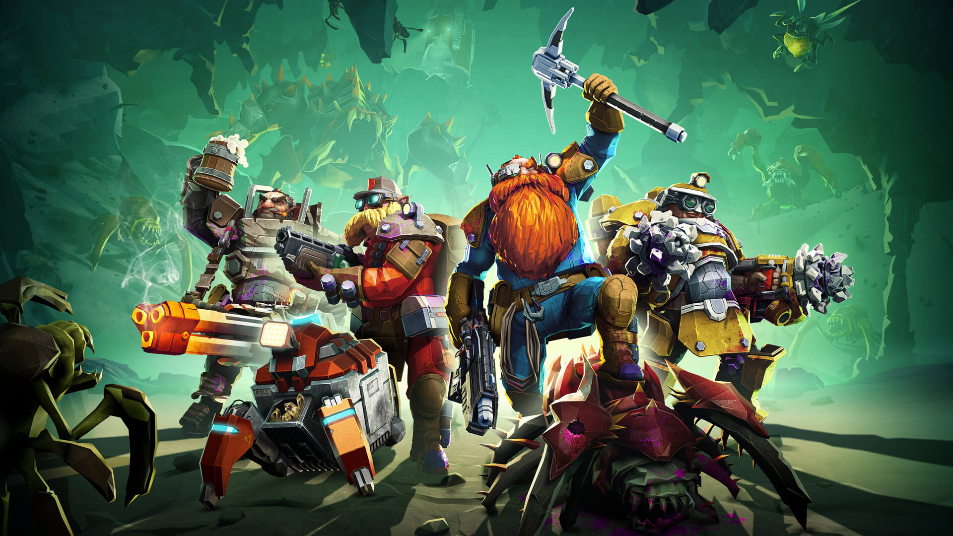 Deep Rock Galactic Gets a Much Anticipated Update