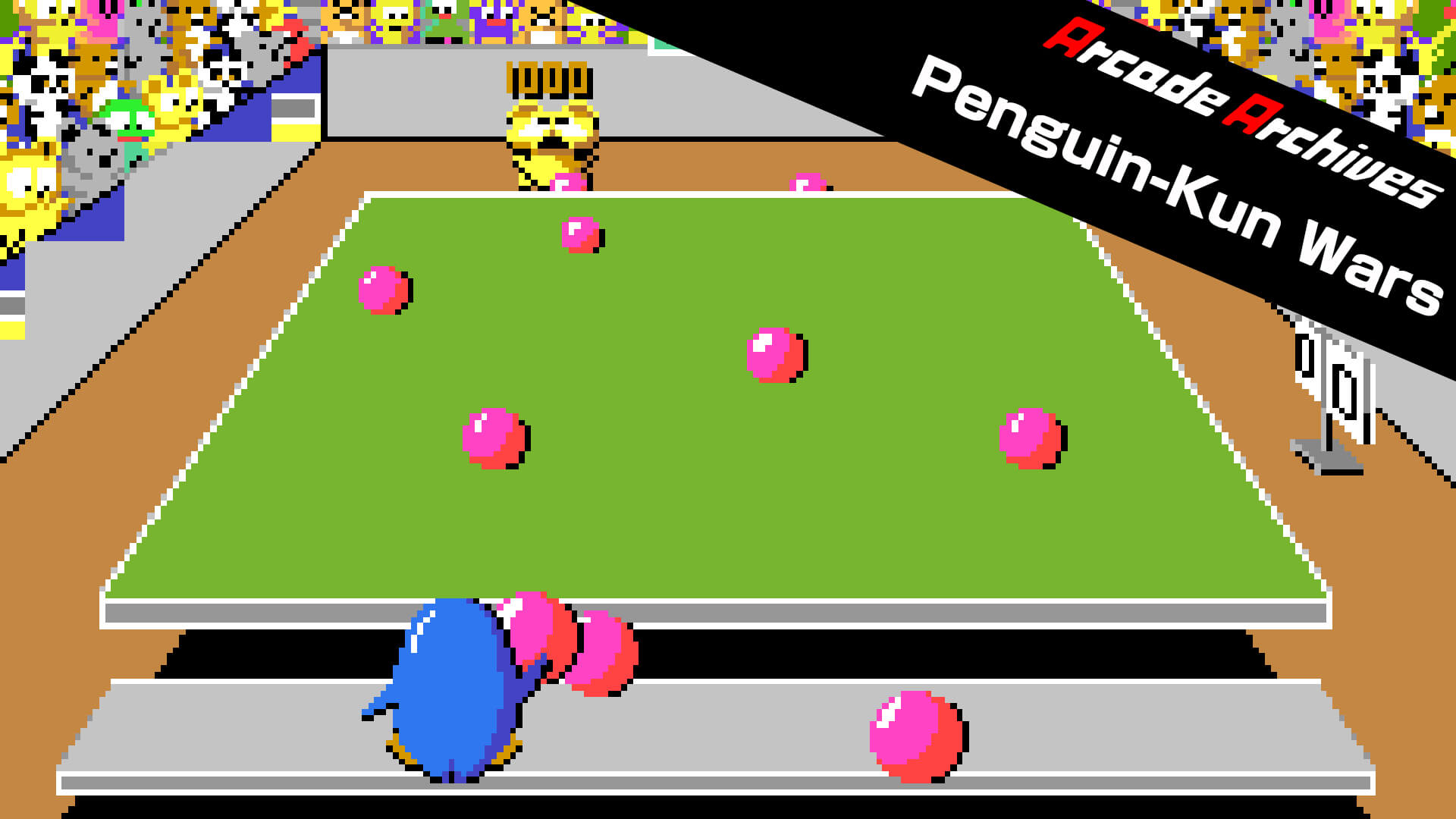 Arcade Classic PenguinKun Wars Coming to PS4 and Switch