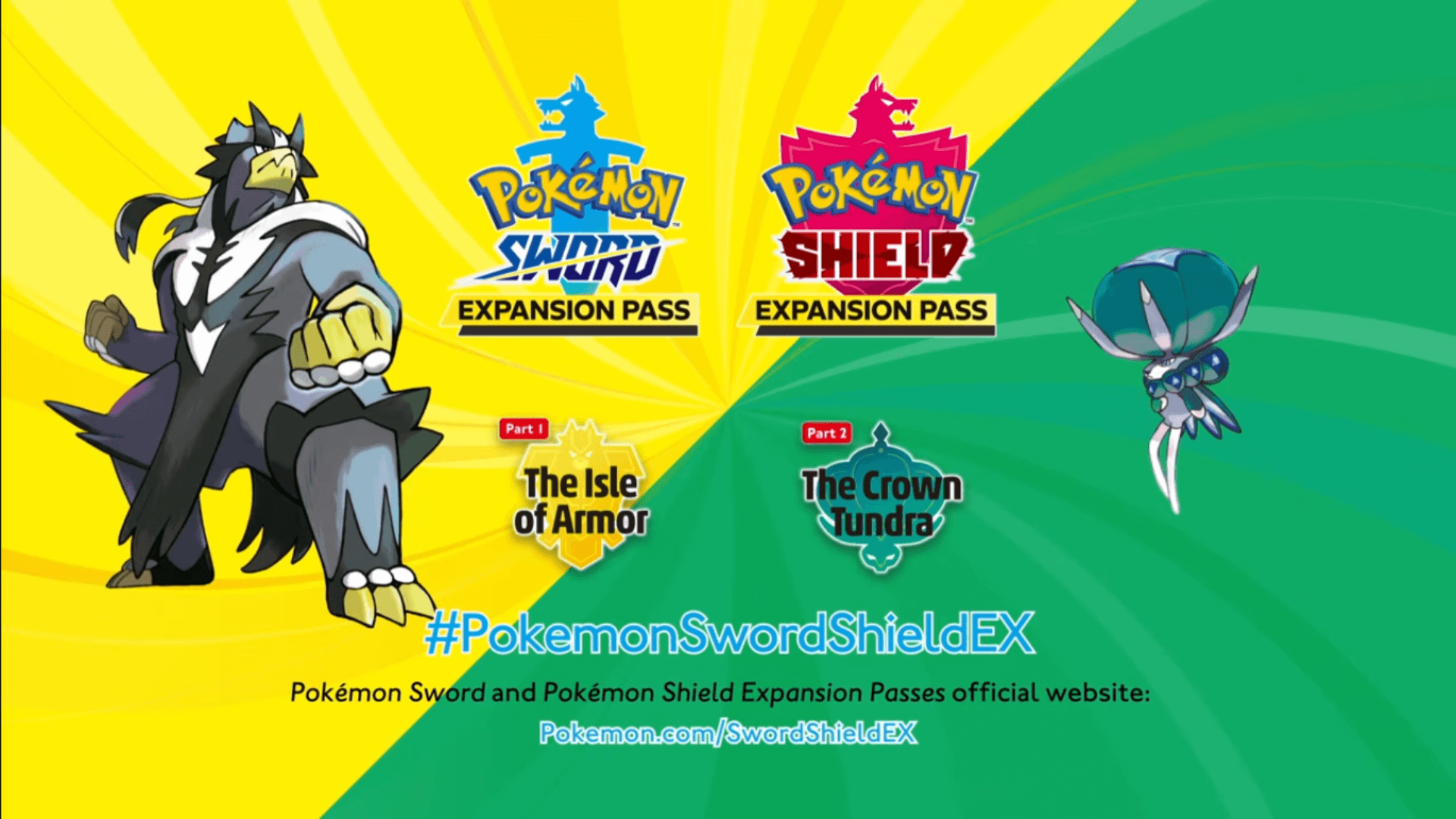 Pokémon Sword and Shield Expansion Pass Coming