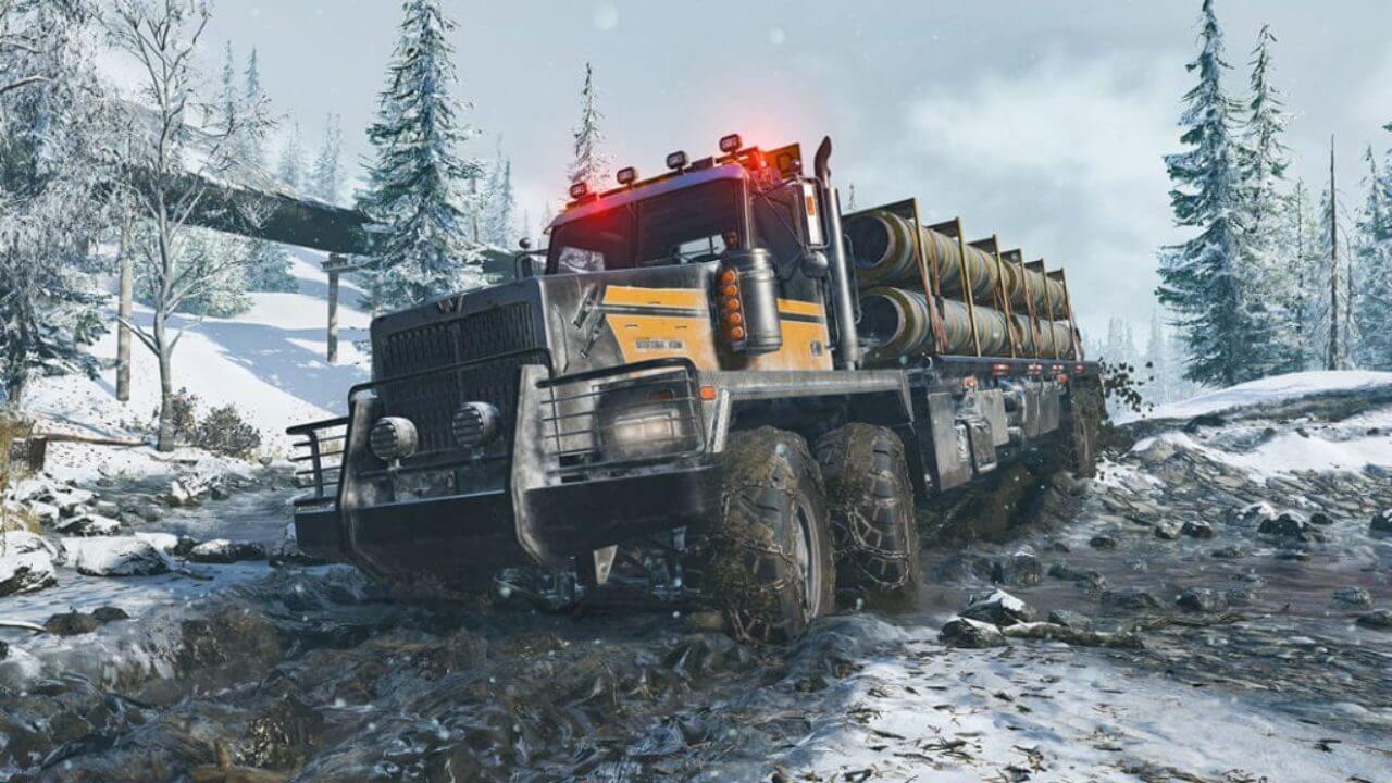 Off-Road Simulator SnowRunner Will Be Launched on April 28