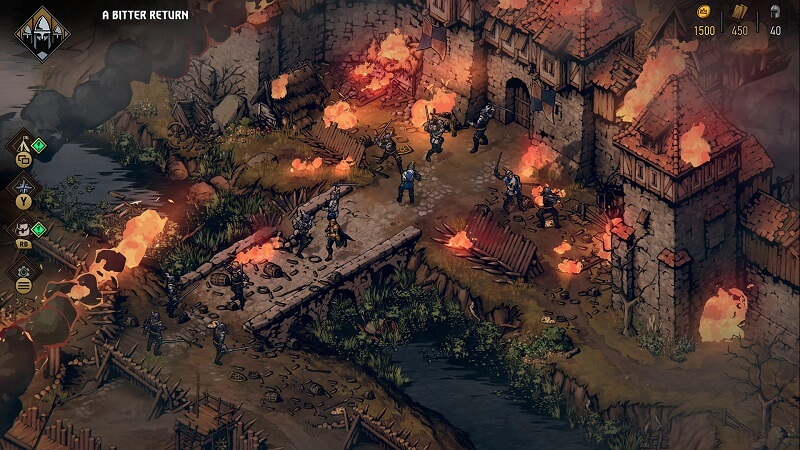 Thronebreaker: The Witcher Tales Environment