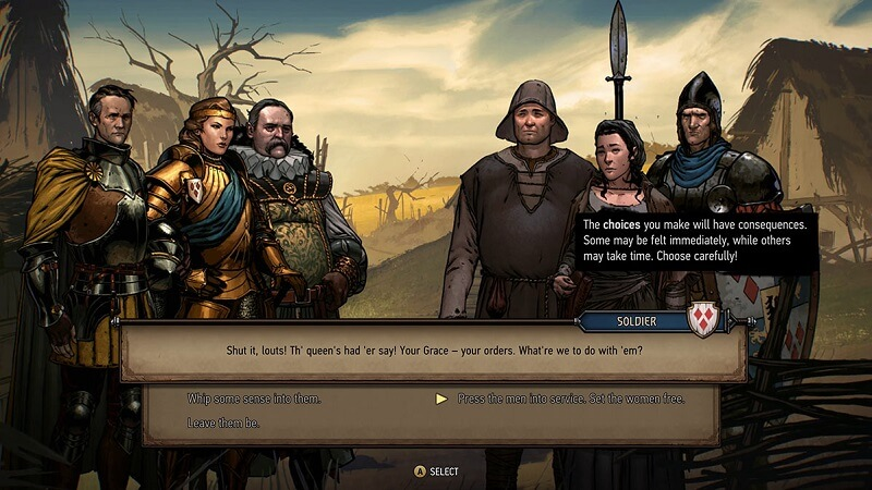 Thronebreaker: The Witcher Tales Choices