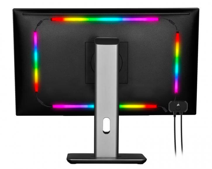 Back of Monitor
