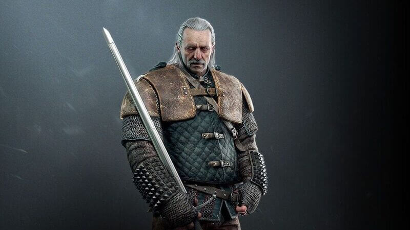Vesemir in The Witcher 3