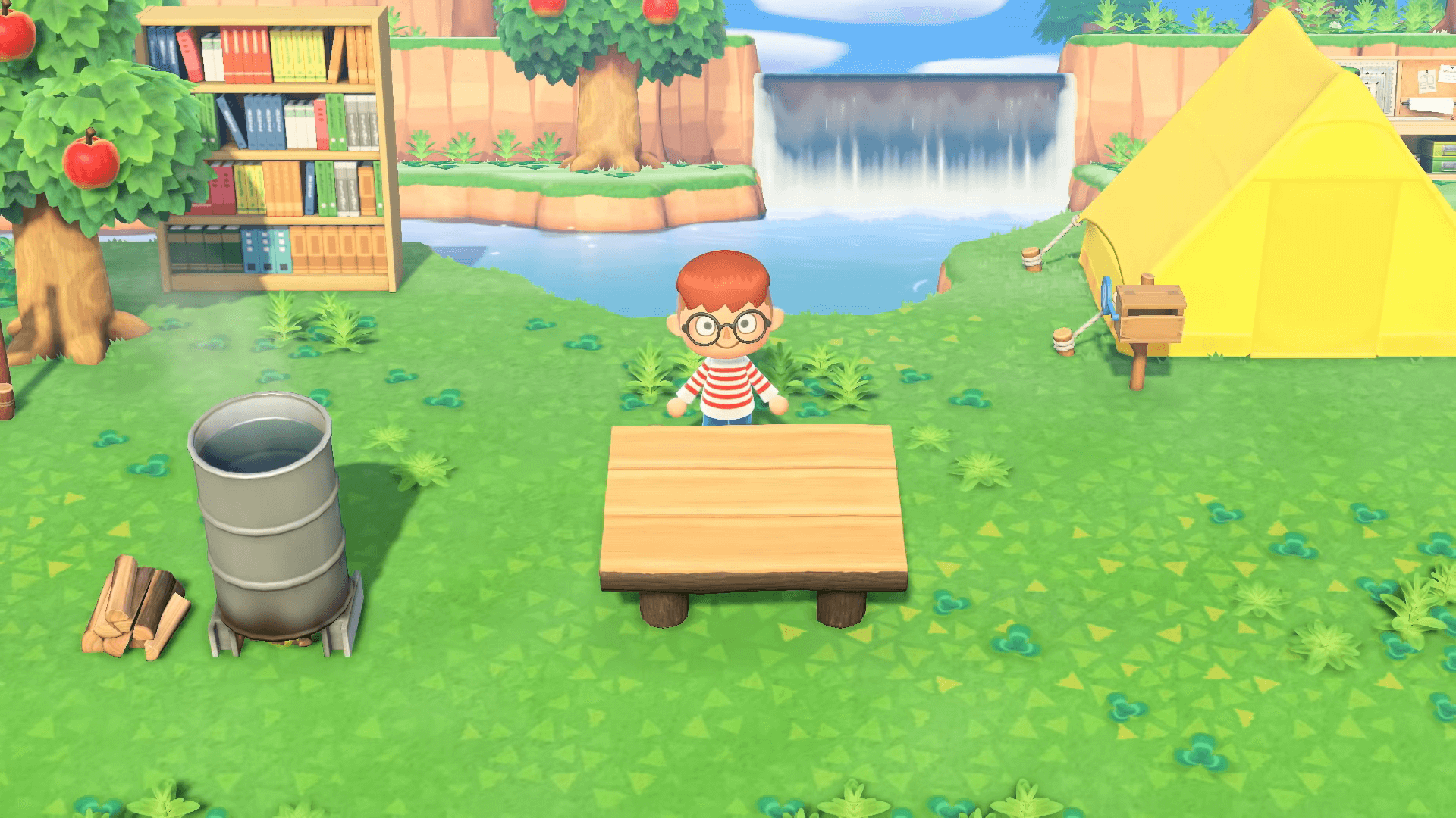 Animal Crossing: New Horizons Shows Off Island Decorating in New Trailer