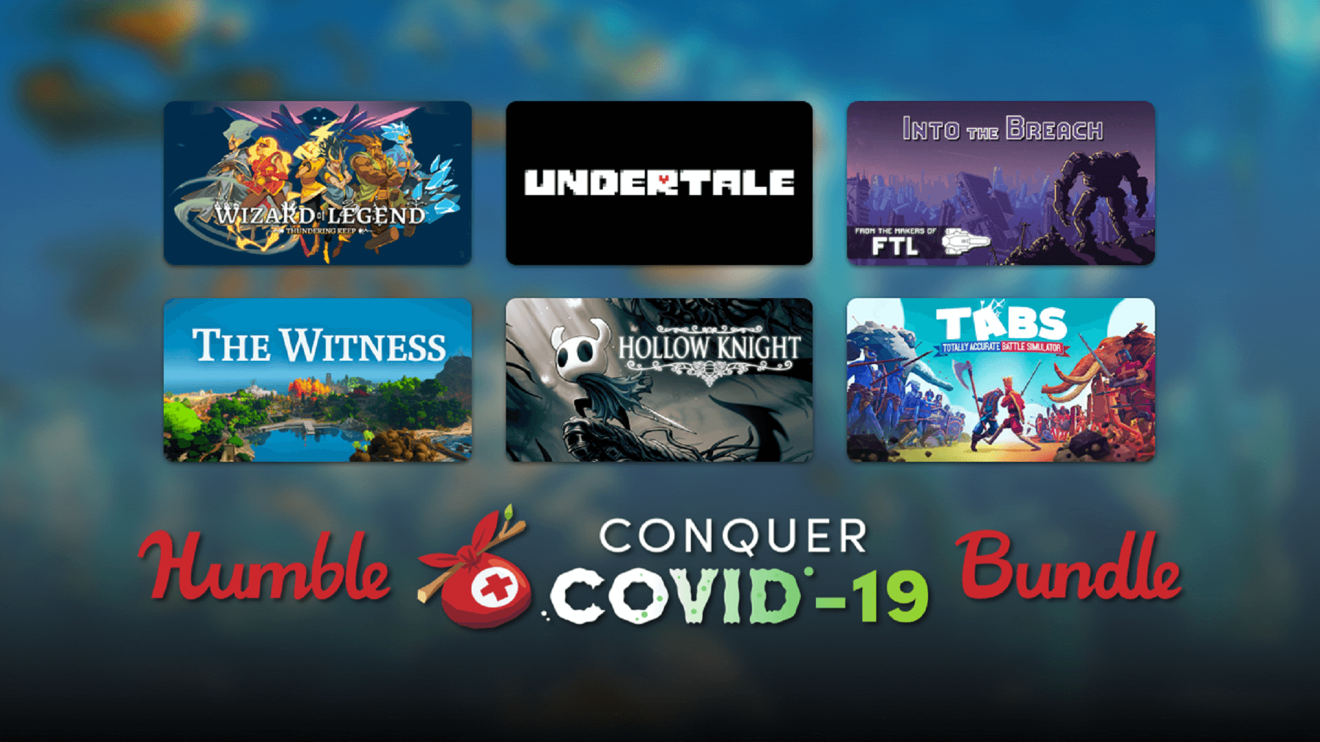 Humble Conquer COVID-19 Bundle Is Now Available