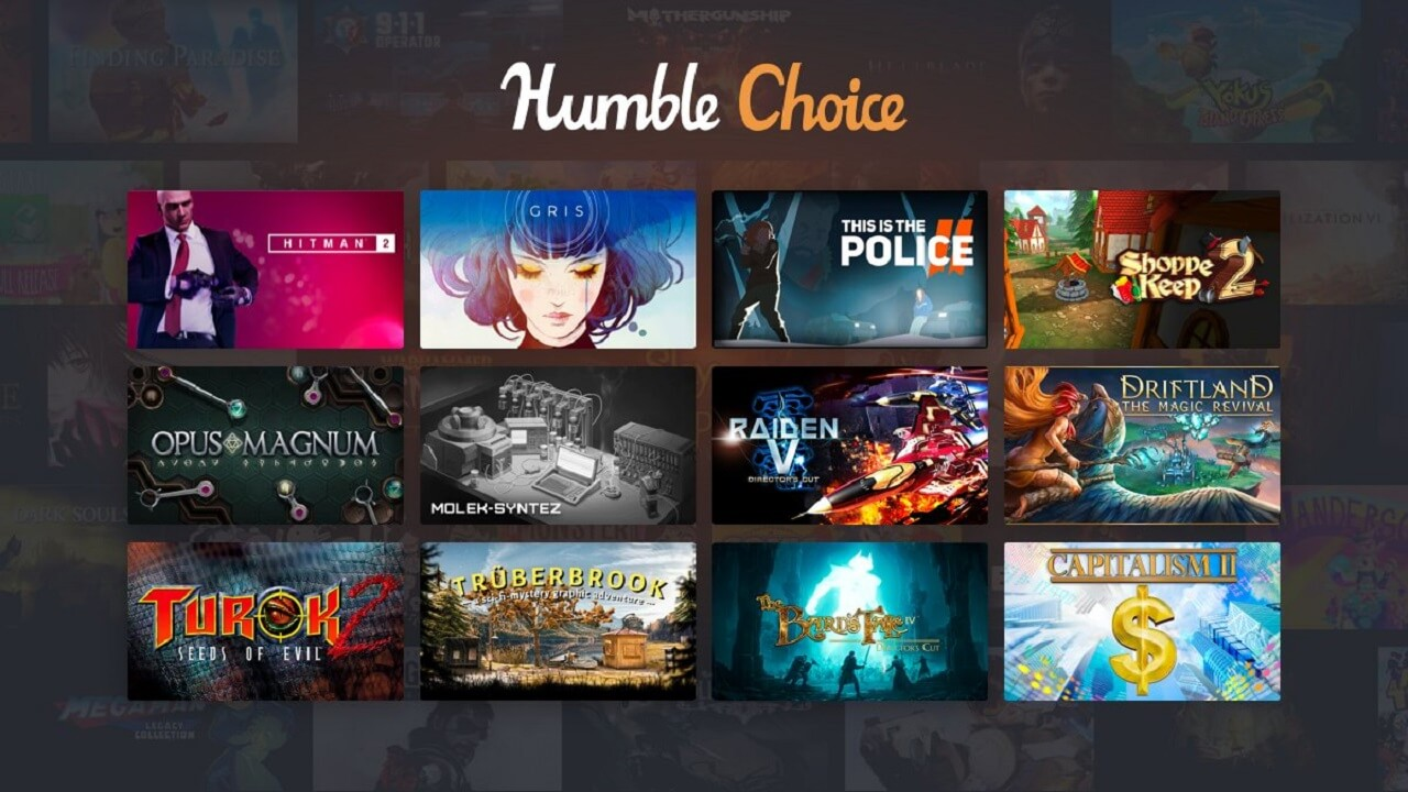 Humble Choice April 2020 Games Revealed