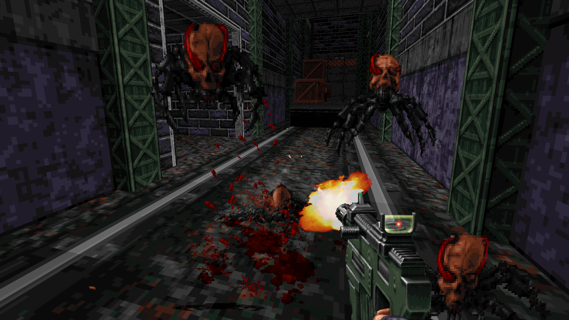 Old School Shooter Makes Its Way to Consoles