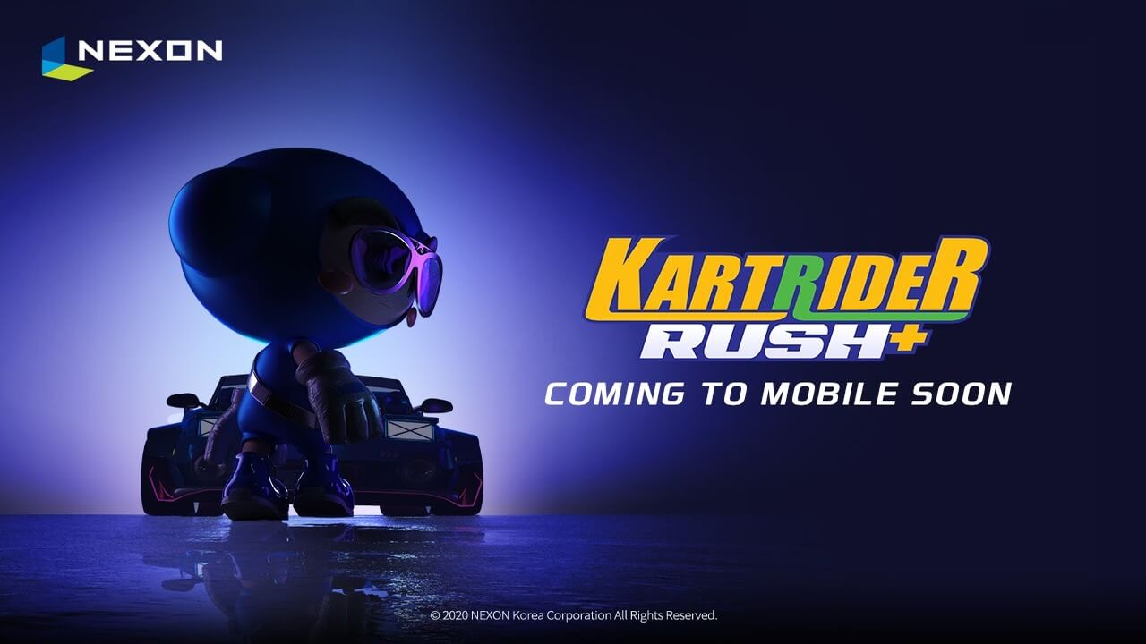 New Game KartRider Rush+ Coming Soon
