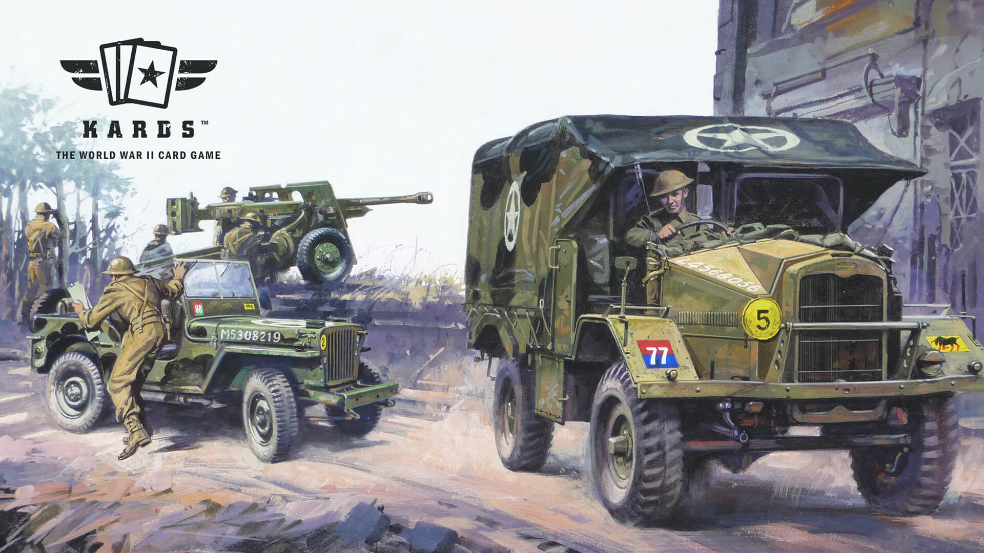 KARDS WWII CCG Review: The Art of 2D War