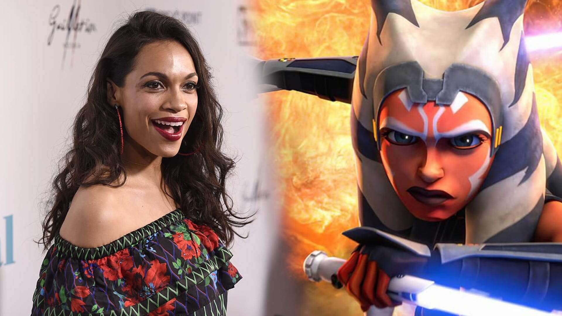 Rosario Dawson Says Her Casting in The Mandalorian isn't Official Yet