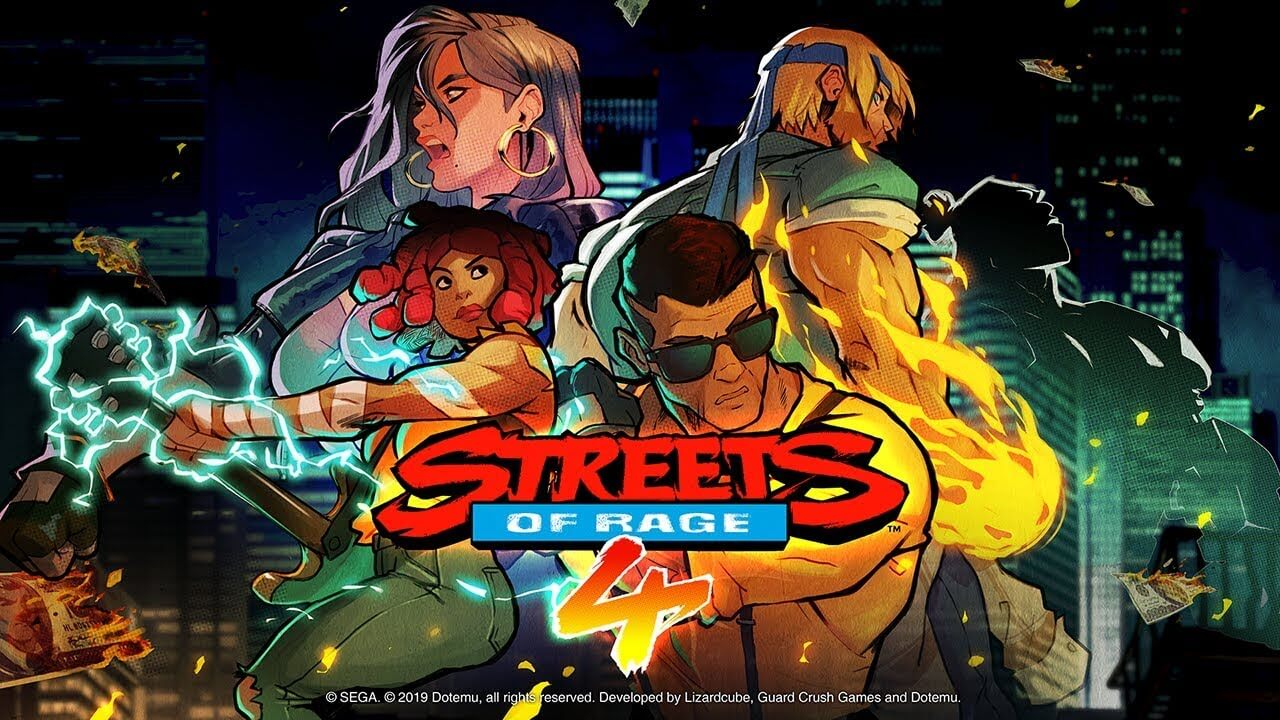 Streets Of Rage 4 Has New Playable Character And An Official Soundtrack