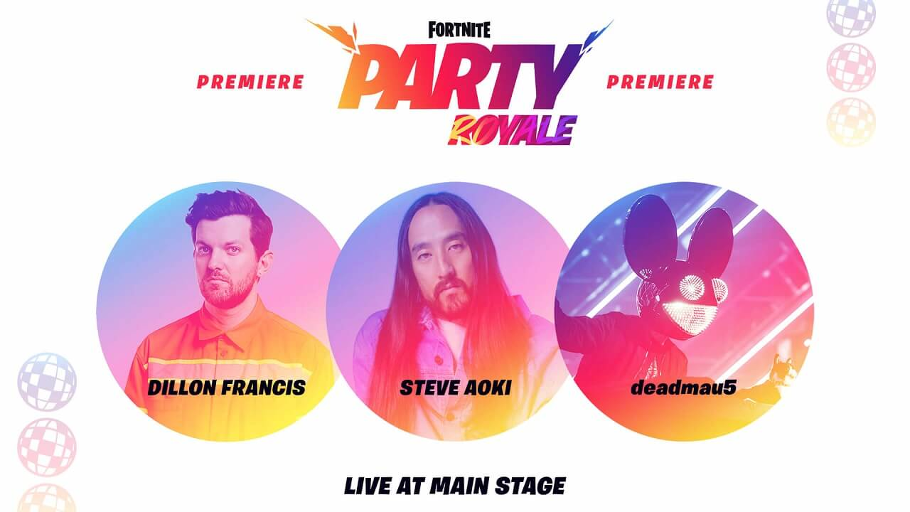 Fortnite Party Royale To Feature Three Consecutive Concerts On May 8