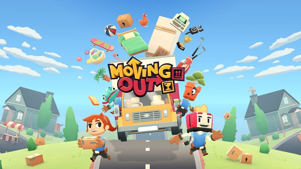 Moving Out Review: Zany Couch Co-Op