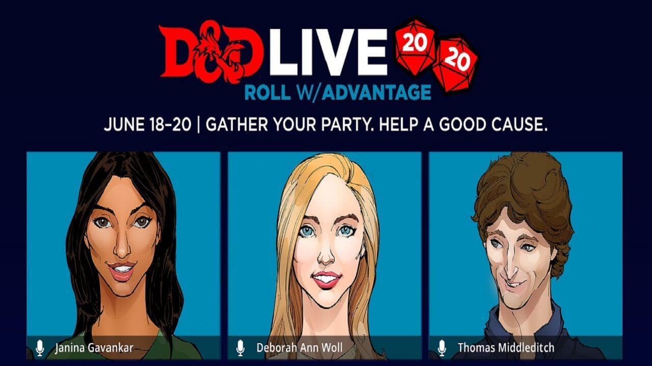 Dungeons and Dragons Announces D&D Live 2020 this June
