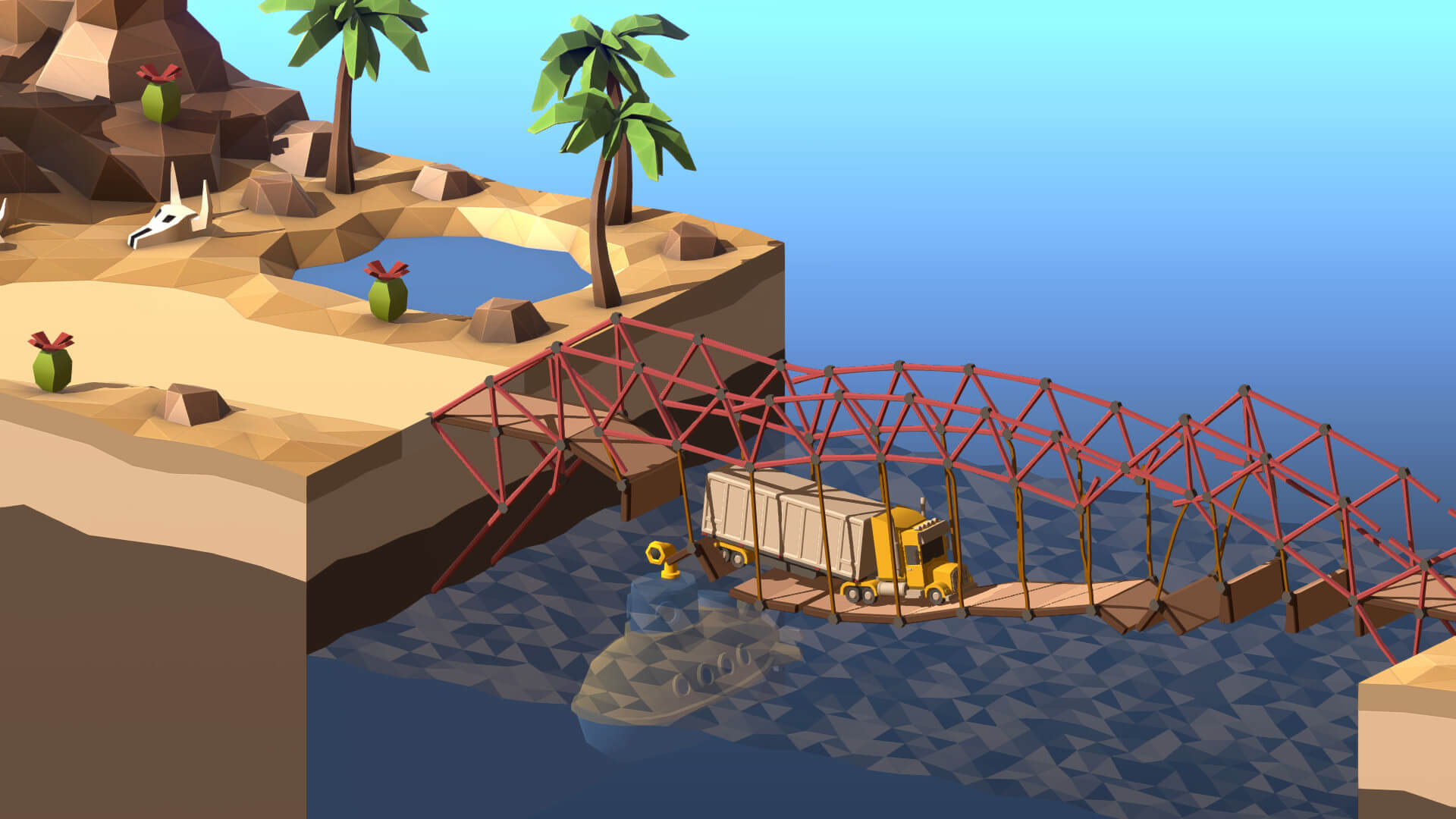 Poly Bridge 2 Releases May 28th For PC