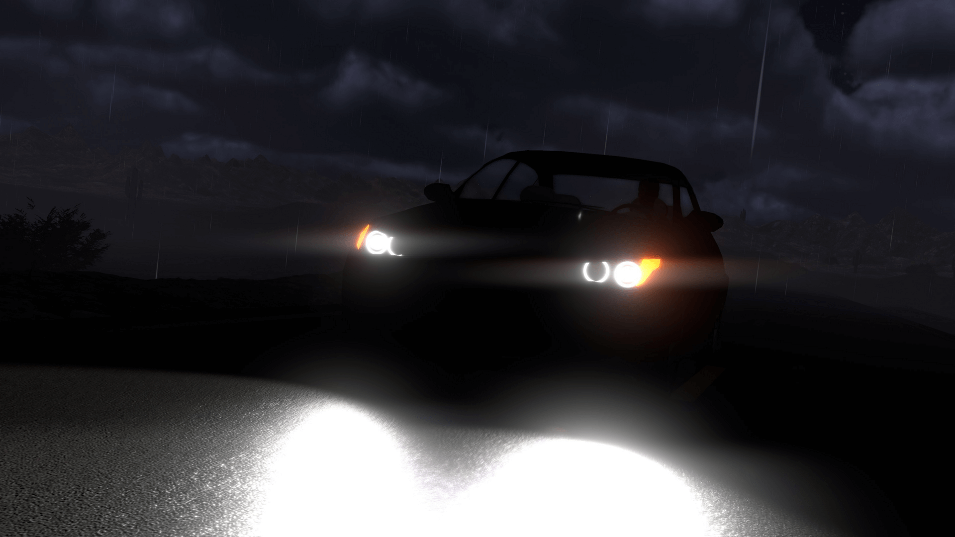 Nightvision Driving Sim Demo Available Now