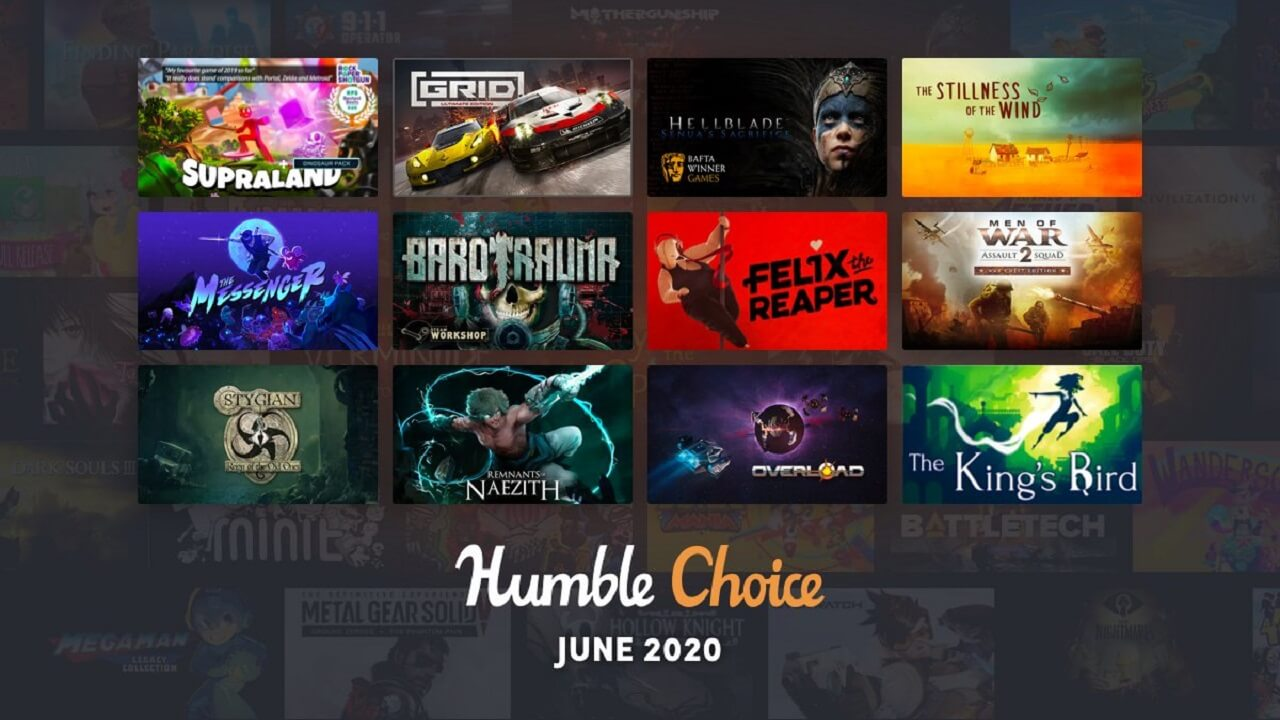 Humble Choice June 2020 Games Revealed
