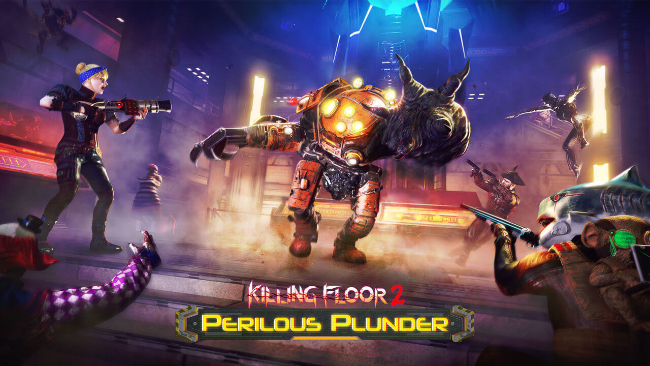 New Killing Floor 2 Update Makes Players Walk The Plank