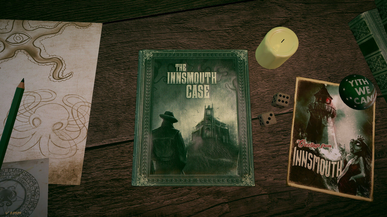 The Innsmouth Case, A Lovecraftian Visual Novel Is Now Available
